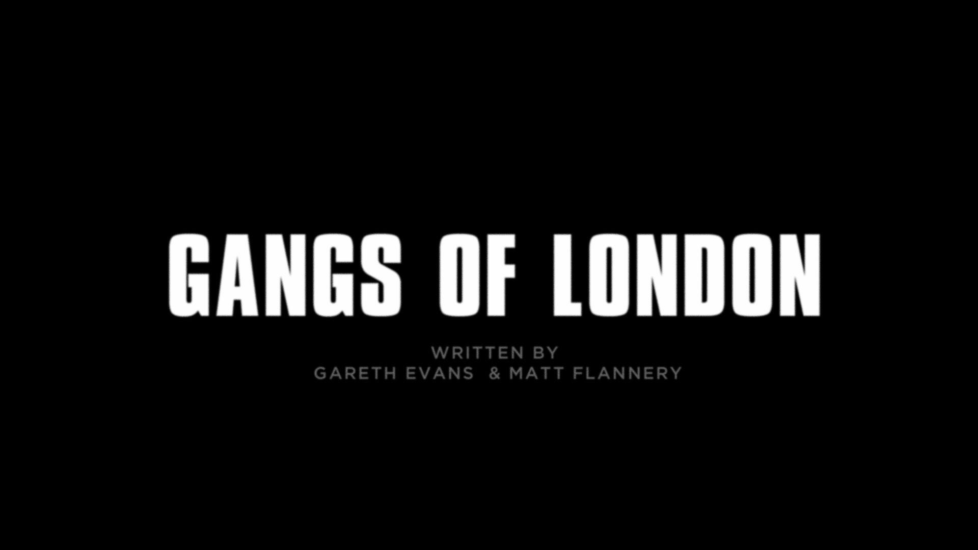Pulse Films Pulse Films Announces Gangs Of London